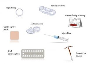 Contraception Methods graphic