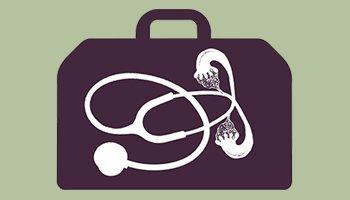 Icono de ginecólogo